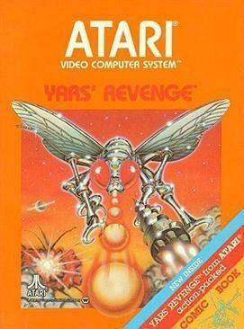 ATARI 2600 YARS' REVENGE (COMPLETE IN BOX) (usagé)