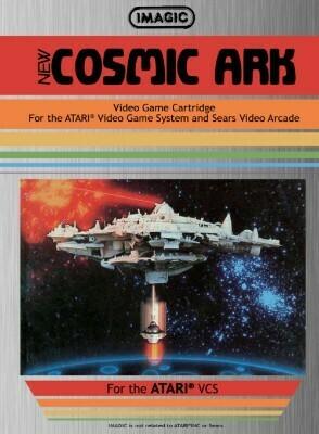 ATARI 2600 COSMIC ARK (usagé)