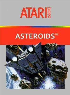 ATARI 2600 ASTEROIDS (usagé)