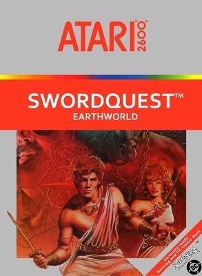 ATARI 2600 SWORDQUEST EARTHWORLD (usagé)