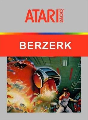 ATARI 2600 BERZERK (usagé)