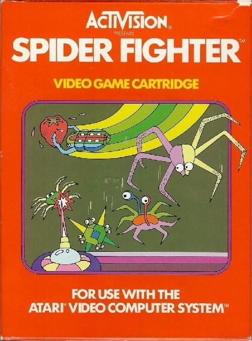 ATARI 2600 SPIDER FIGHTER
