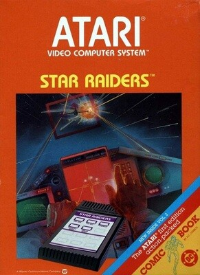 ATARI 2600 STAR RAIDERS (usagé)