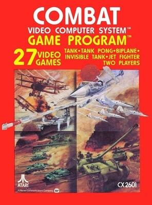 ATARI 2600 GAME PROGRAM COMBAT (usagé)