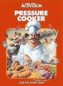 ATARI 2600 PRESSURE COOKER