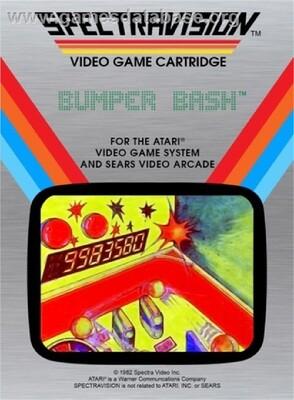 ATARI 2600 BUMPER BASH (usagé)