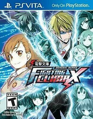 DENGEKI BUNKO FIGHTING CLIMAX LIMITED EDITION (WITH BOX) (usagé)