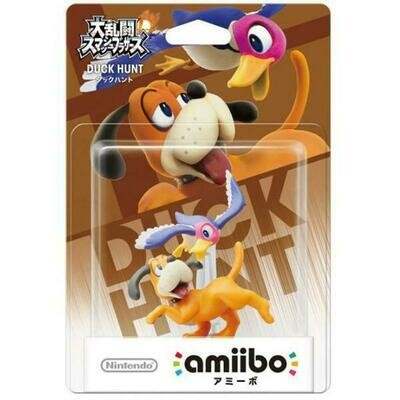AMIIBO DUCK HUNT DUO JAP EDITION