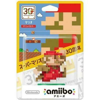 AMIIBO 8-BIT MARIO CLASSIC JAP EDITION