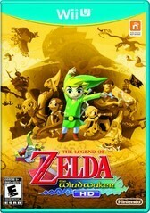 THE LEGEND OF ZELDA WIND WAKER HD (WITH BOX) (usagé)