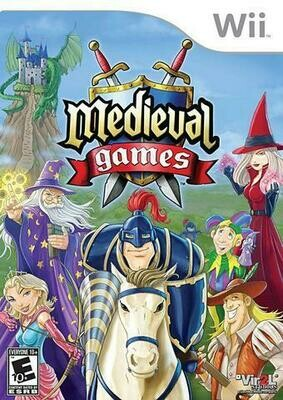 MEDIEVAL GAMES (WITH BOX) (usagé)
