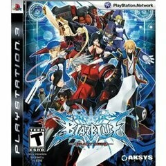 BLAZBLUE CALAMITY TRIGGER (COMPLETE IN BOX) (usagé)