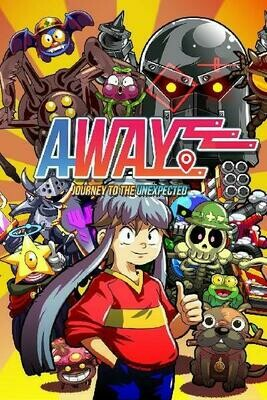 AWAY JOURNEY TO THE UNEXPECTED (LIMITED RUN GAMES) (usagé)
