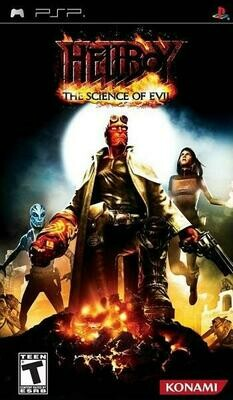 HELLBOY THE SCIENCE OF EVIL (COMPLETE IN BOX) (usagé)