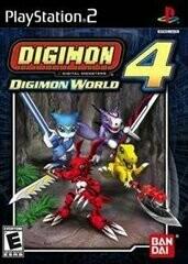 DIGIMON WORLD 4 (WITH BOX) (usagé)