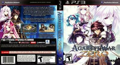 AGAREST GENERATIONS OF WAR ZERO COLLECTOR'S PAL EDITION (COMPLETE IN BOX)