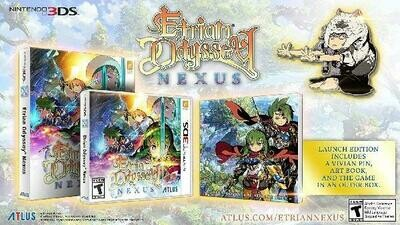 ETRIAN ODYSSEY NEXUS LAUNCH EDITION (COMPLETE IN BOX) (usagé)