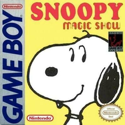 SNOOPY'S MAGIC SHOW (usagé)