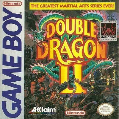 DOUBLE DRAGON II THE REVENGE (usagé)