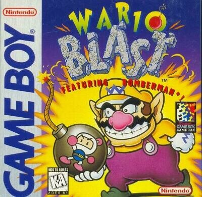 WARIO BLAST FEATURING BOMBERMAN (usagé)