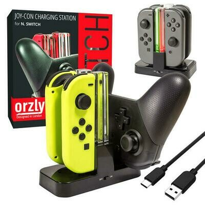 CHARGE STATION ULTIMATE FOR JOY CON AND PRO CONTROLLER