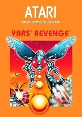 ATARI 2600 YARS' REVENGE (usagé)