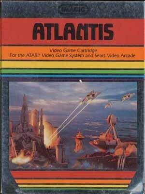 ATARI 2600 ATLANTIS (usagé)