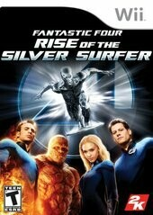 FANTASTIC 4 RISE OF THE SILVER SURFER (COMPLETE IN BOX) (usagé)