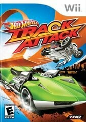 HOT WHEELS TRACK ATTACK (COMPLETE IN BOX) (usagé)