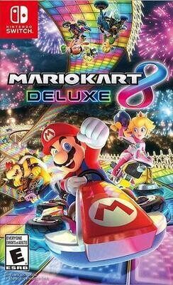 NSW MARIO KART 8 DELUXE (BOX ONLY) (usagé)