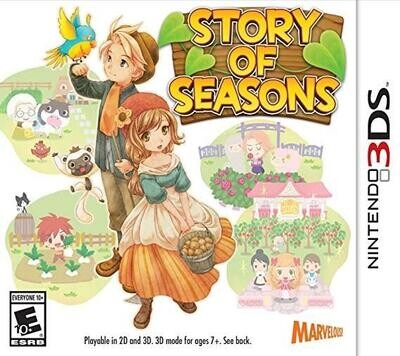 3DS STORY OF SEASONS (BOX ONLY) (usagé)