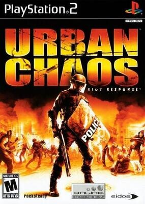 PS2 URBAN CHAOS RIOT RESPONSE (BOX ONLY) (usagé)