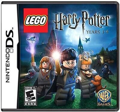 NDS LEGO HARRY POTTER YEARS 1-4 (BOX ONLY) (usagé)