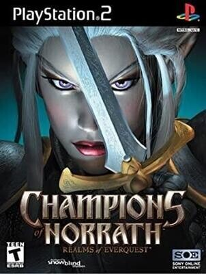 PS2 CHAMPIONS OF NORRATH (BOX ONLY) (usagé)