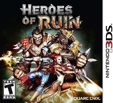 3DS HEROES OF RUIN (BOX ONLY) (usagé)