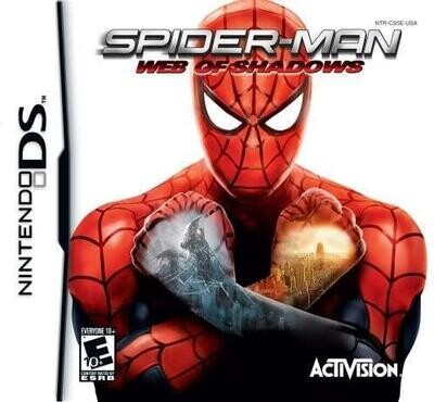 NDS SPIDER-MAN WEB OF SHADOWS (BOX ONLY) (usagé)
