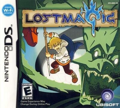 NDS LOST MAGIC (BOX ONLY) (usagé)