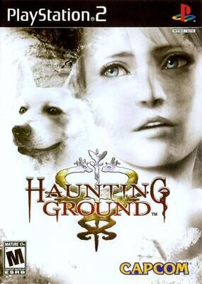 PS2 HAUNTING GROUND COMING SOON (BOX ONLY) (usagé)