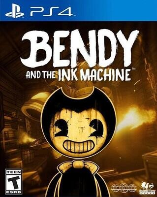 PS4 BENDY AND THE INK MACHINE (BOX ONLY) (usagé)