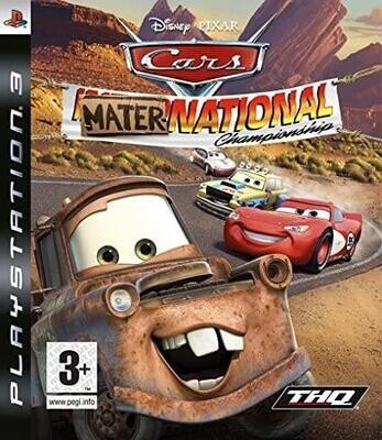PS3 CARS MATER-NATIONAL CHAMPIONSHIP (BOX ONLY) (usagé)