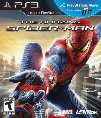 PS3 THE AMAZING SPIDER-MAN (BOX ONLY) (usagé)