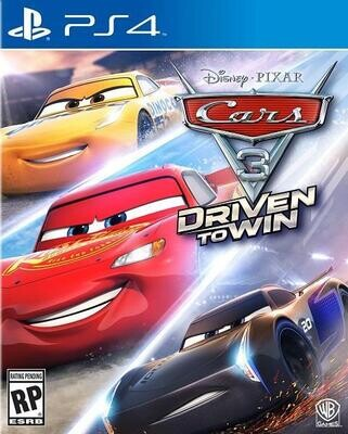 PS4 CARS 3 DRIVEN TO WIN (BOX ONLY) (usagé)