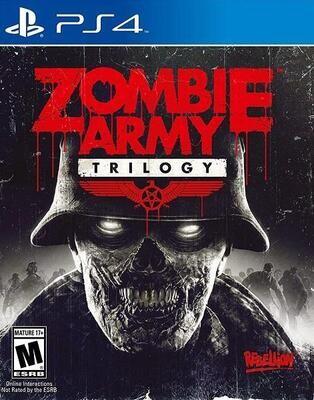 PS4 ZOMBIE ARMY TRILOGY (BOX ONLY) (usagé)