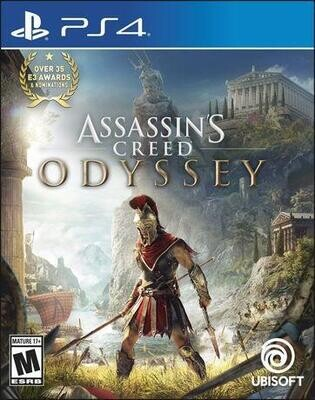 PS4 ASSASSIN'S CREED ODYSSEY (BOX ONLY) (usagé)