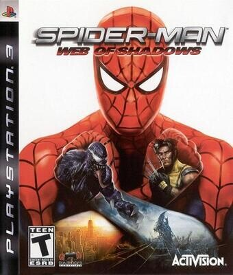 PS3 SPIDER-MAN WEB OF SHADOWS (BOX ONLY) (usagé)