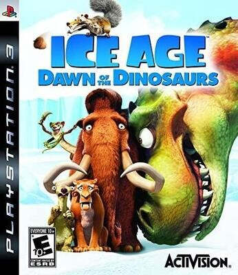 PS3 ICE AGE DAWN OF THE DINOSAURS (BOX ONLY) (usagé)