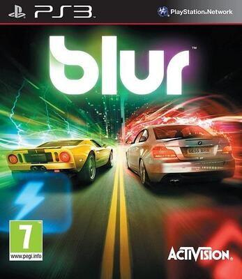 PS3 BLUR (BOX ONLY) (usagé)