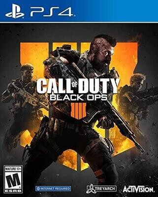 PS4 CALL OF DUTY BLACK OPS IIII (BOX ONLY) (usagé)