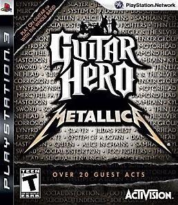 PS3 GUITAR HERO METALLICA (BOX ONLY)