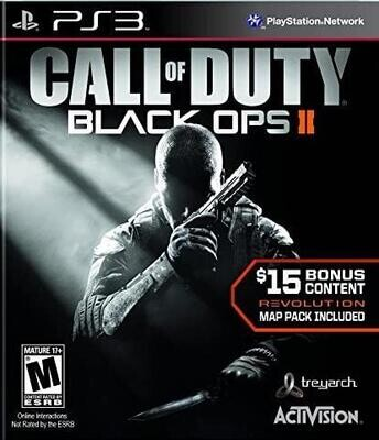 PS3 CALL OF DUTY BLACK OPS II (BOX ONLY) (usagé)